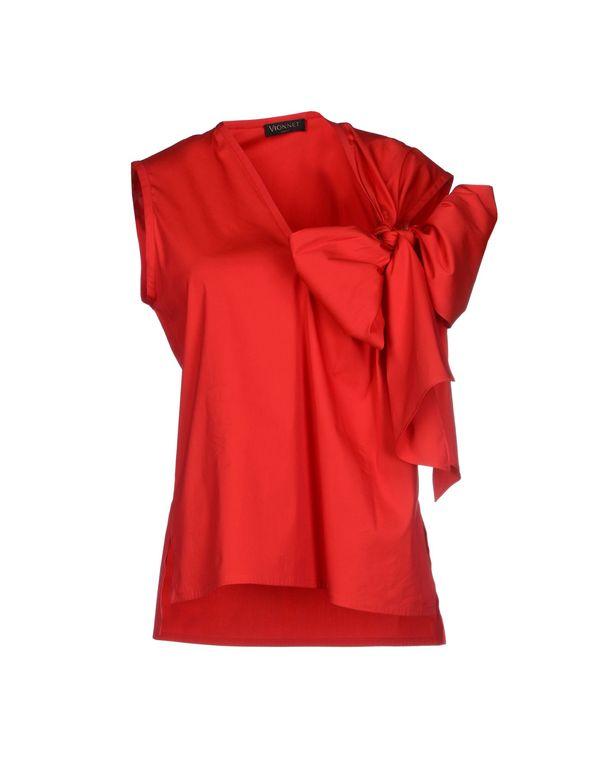 红色 VIONNET 上衣