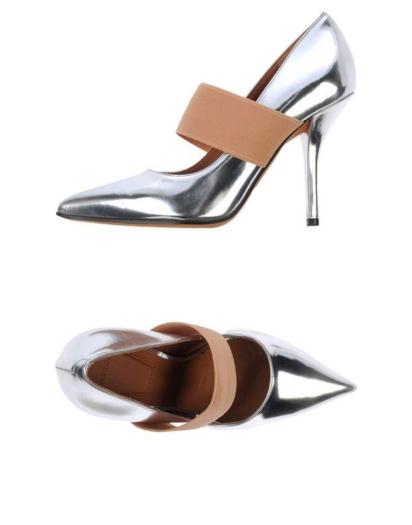 银色 GIVENCHY 高跟鞋