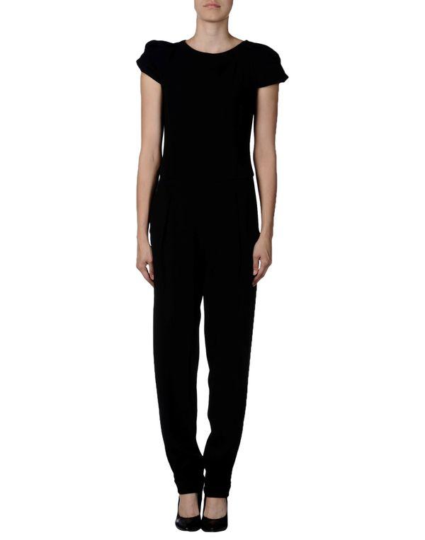 黑色 EMPORIO ARMANI 连身长裤