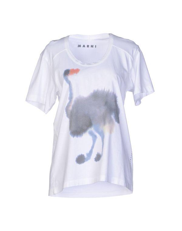 白色 MARNI T-shirt