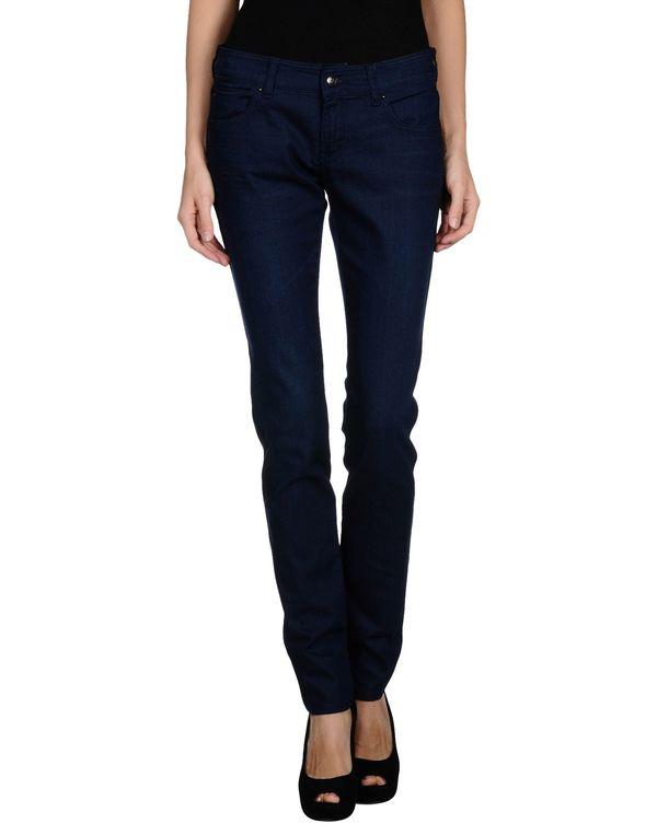 蓝色 ARMANI JEANS 牛仔裤