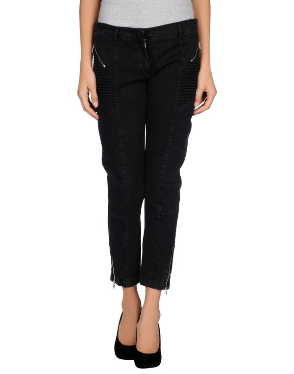 黑色 PIERRE BALMAIN 牛仔裤