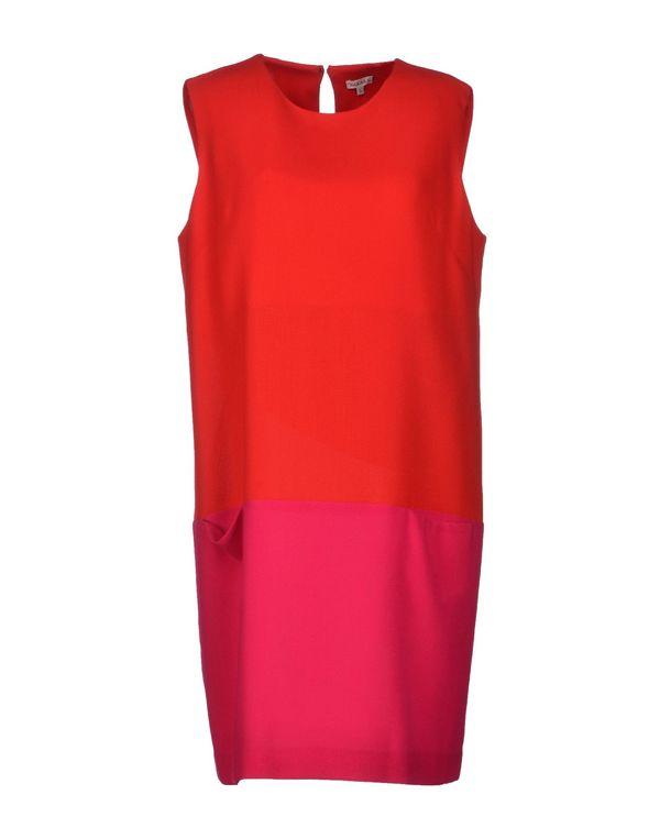 红色 P.A.R.O.S.H. 短款连衣裙