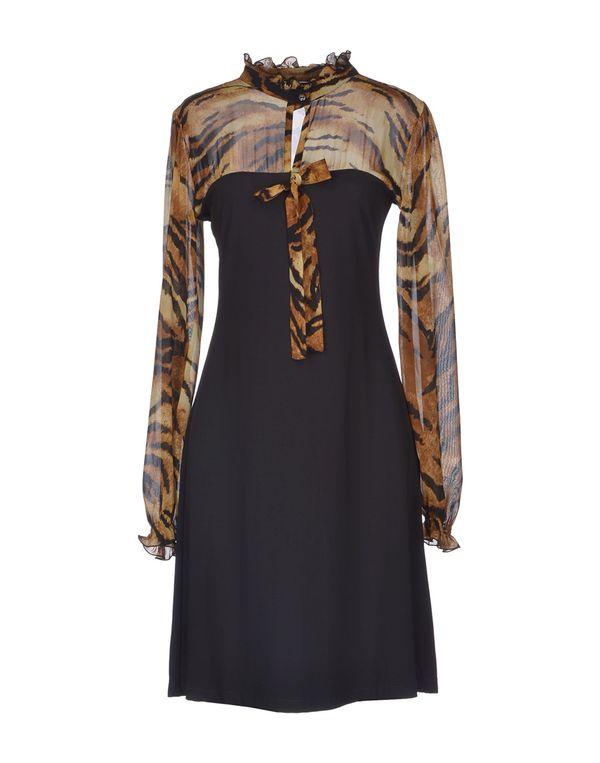 黑色 ROCCOBAROCCO 及膝连衣裙