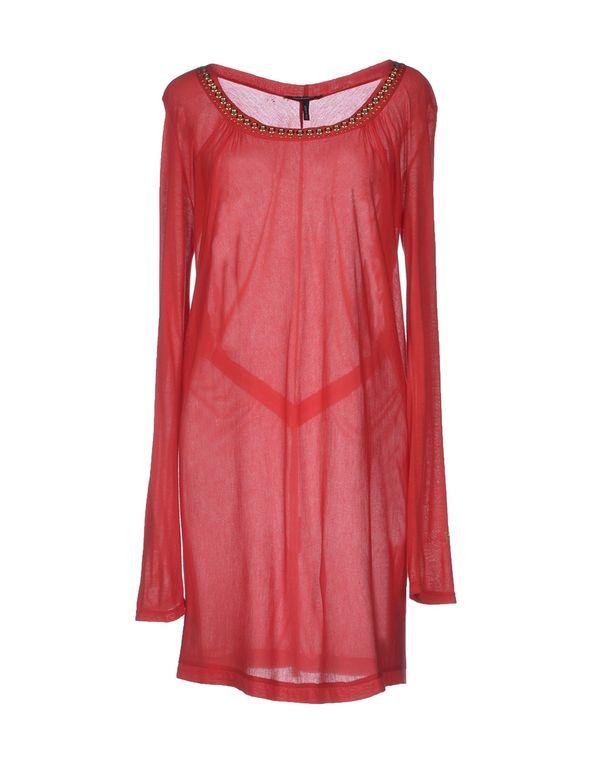 红色 ROCCOBAROCCO 短款连衣裙