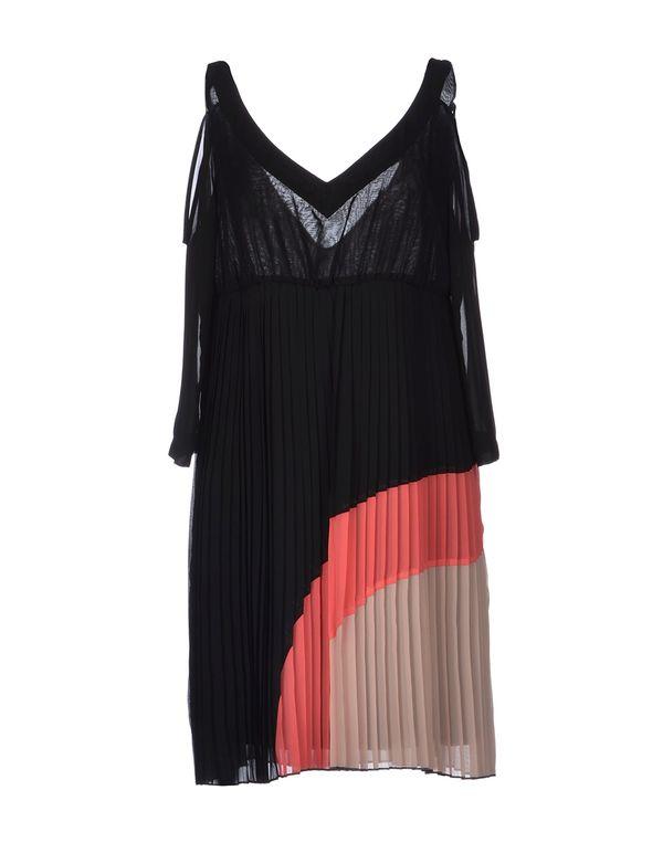黑色 ANNARITA N. 短款连衣裙