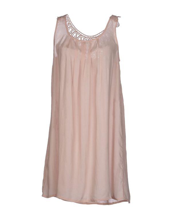浅粉色 ONLY 短款连衣裙