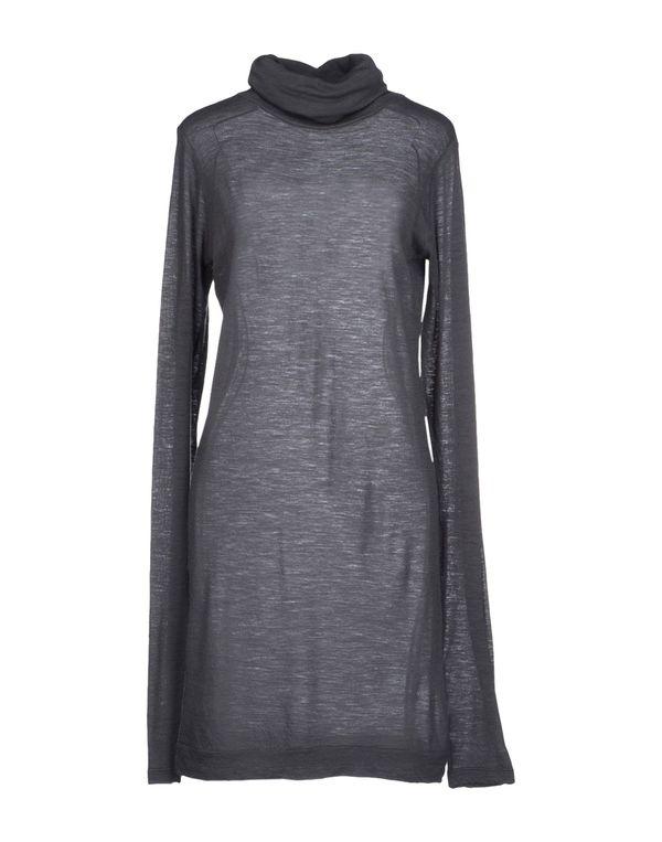 灰色 AVIÙ 短款连衣裙