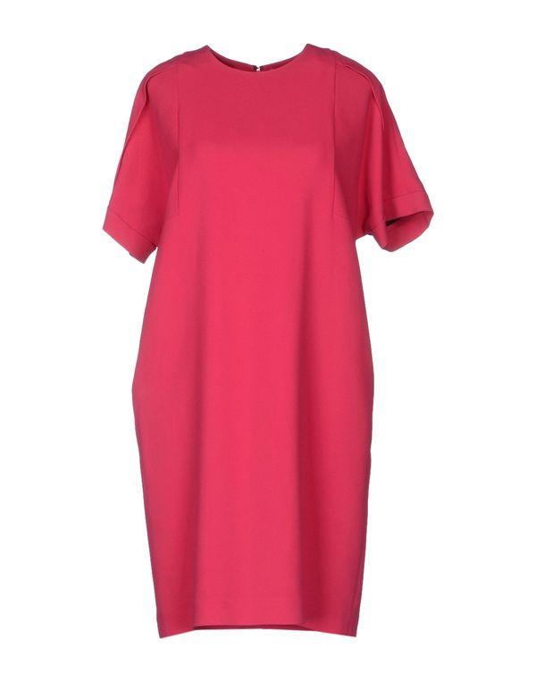 玫红色 MSGM 短款连衣裙