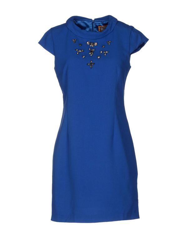 蓝色 MADE FOR LOVING 短款连衣裙