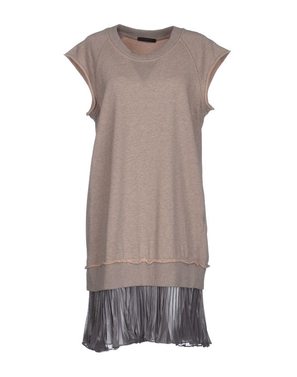 灰色 PINKO BLACK 及膝连衣裙