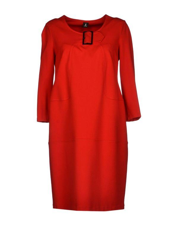 红色 1 ONE 短款连衣裙