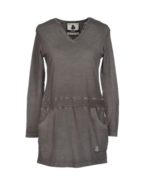 灰色 DUCK FARM 短款连衣裙