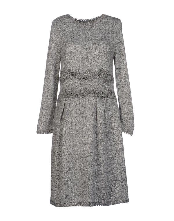 灰色 ALBERTA FERRETTI 及膝连衣裙