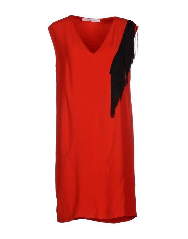 红色 JUCCA 短款连衣裙