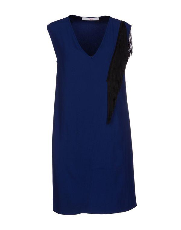 蓝色 JUCCA 短款连衣裙