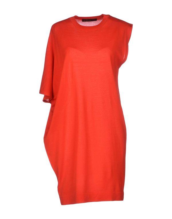 红色 BALENCIAGA 短款连衣裙