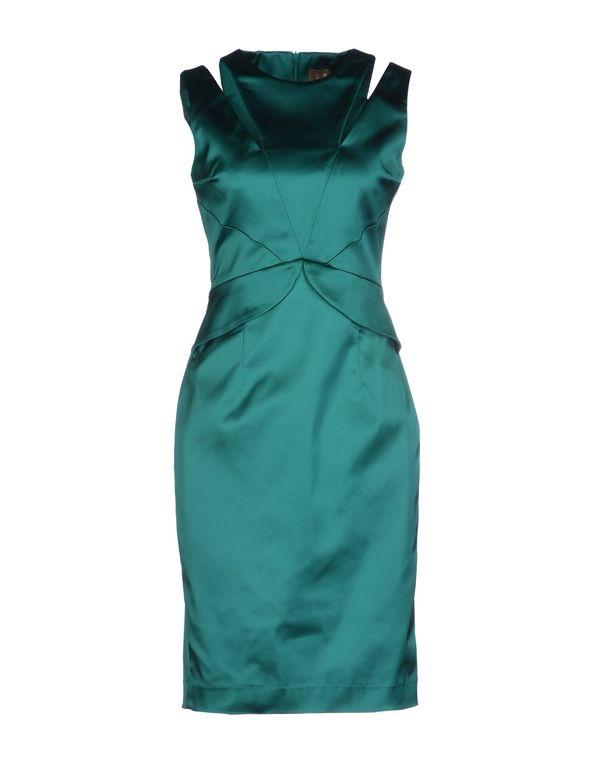 绿色 SPACE STYLE CONCEPT 短款连衣裙