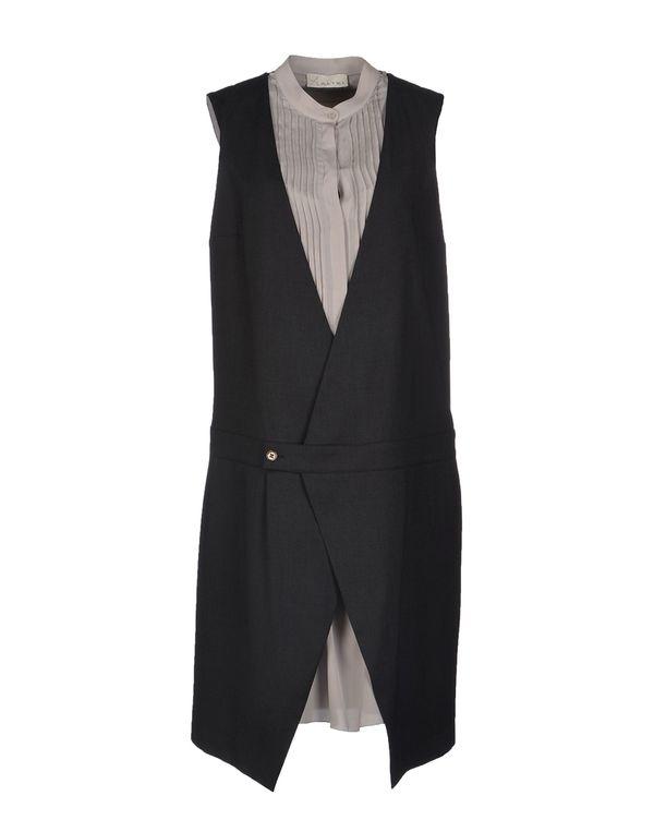 青灰色 ALYSI 短款连衣裙