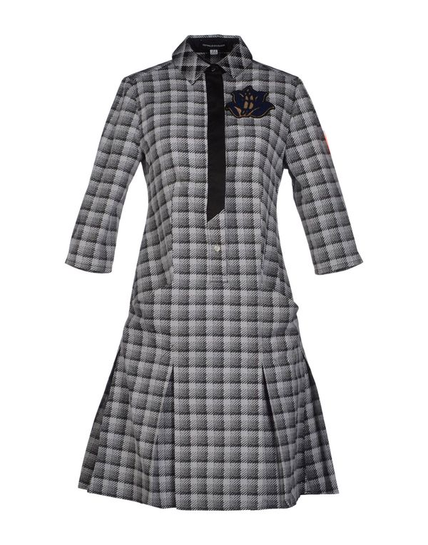黑色 OSTWALD HELGASON 短款连衣裙