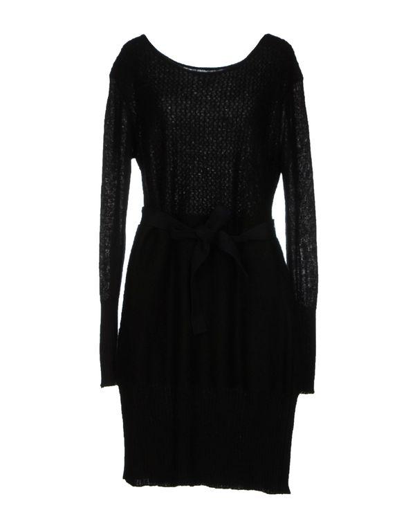 黑色 HOSS INTROPIA 及膝连衣裙