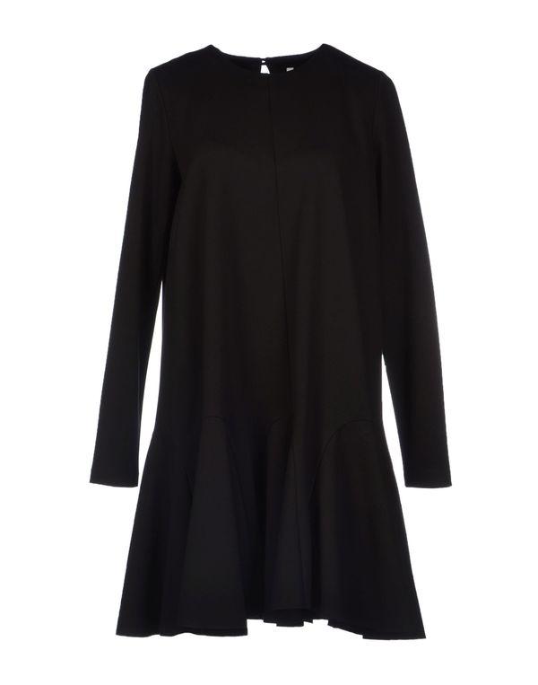 黑色 PIERANTONIO GASPARI 短款连衣裙