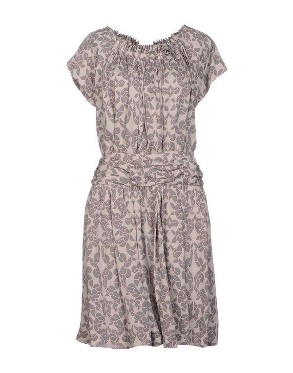 鸽灰色 SEE BY CHLOÉ 短款连衣裙