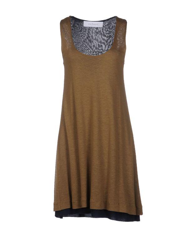 棕色 CACHAREL 短款连衣裙