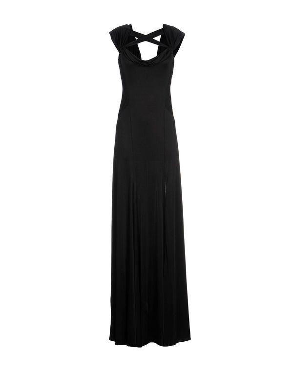 黑色 BLUMARINE 长款连衣裙