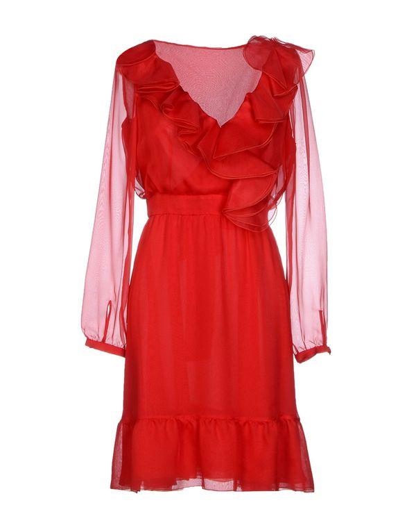 红色 VALENTINO 短款连衣裙