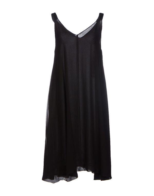 黑色 LAVINIATURRA 及膝连衣裙