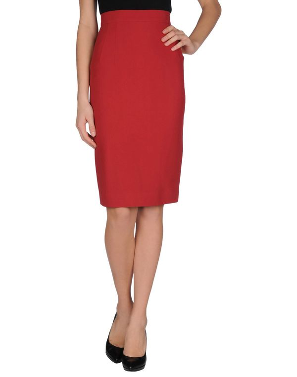 砖红 JONATHAN SAUNDERS 半长裙