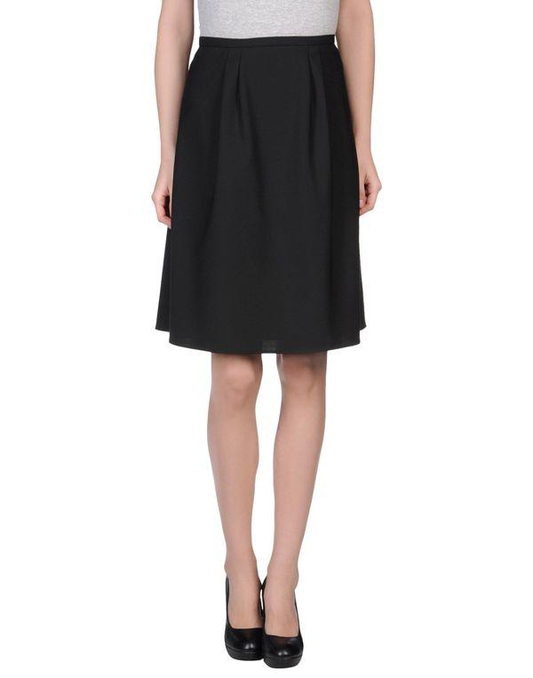 黑色 ROCHAS 及膝半裙