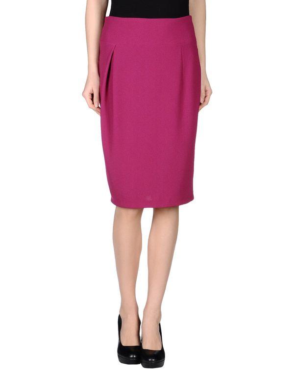 浅紫色 LAVINIATURRA 及膝半裙