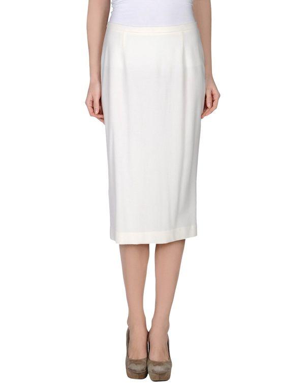 象牙白 LAVINIATURRA 半长裙