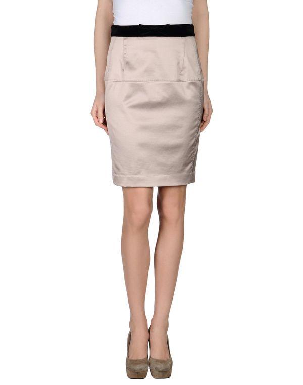 水粉红 TARA JARMON 及膝半裙