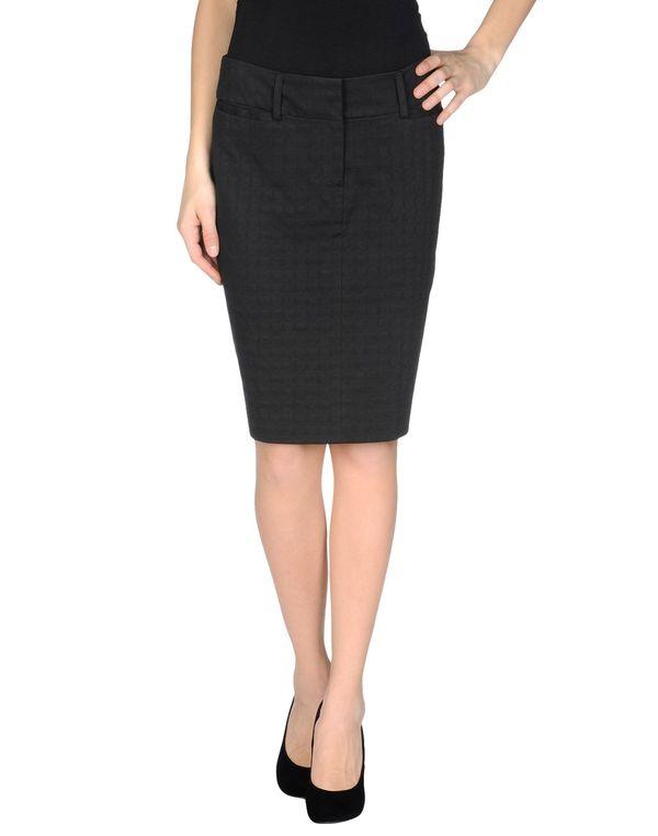 黑色 ASPESI 及膝半裙