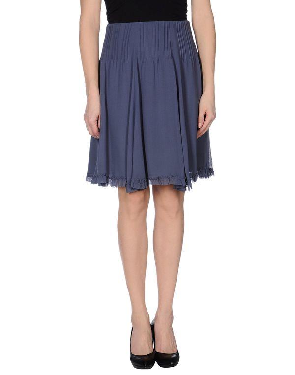 紫红 EMPORIO ARMANI 及膝半裙