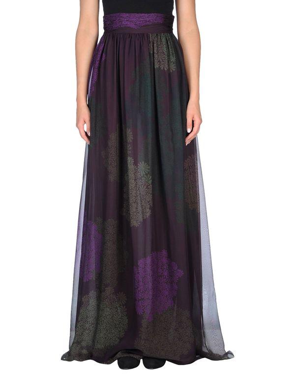 深紫 GIAMBATTISTA VALLI 长裙