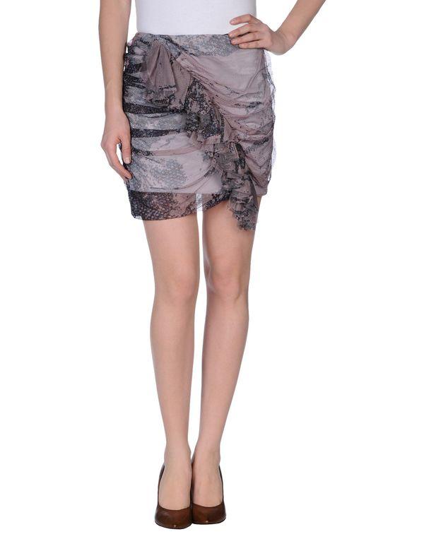 鸽灰色 JUST CAVALLI 超短裙