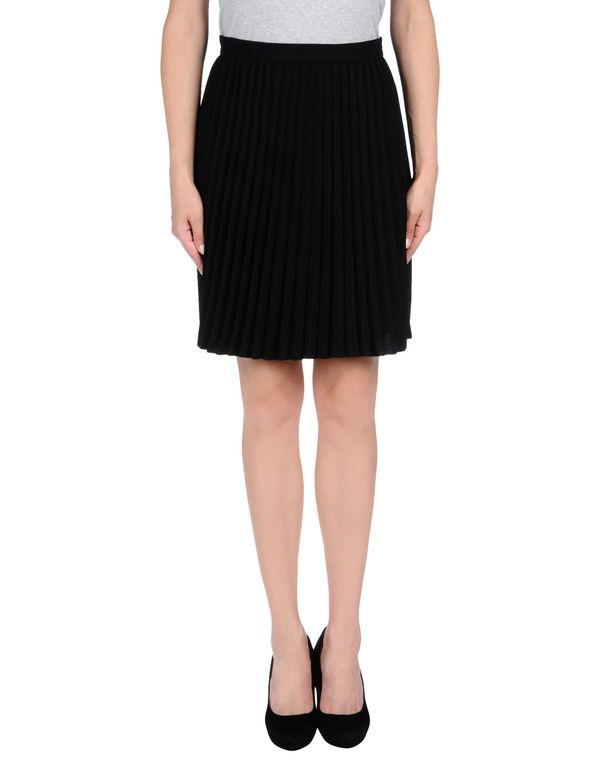 黑色 MAURO GRIFONI 及膝半裙