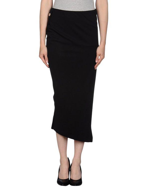 黑色 HIGH 半长裙