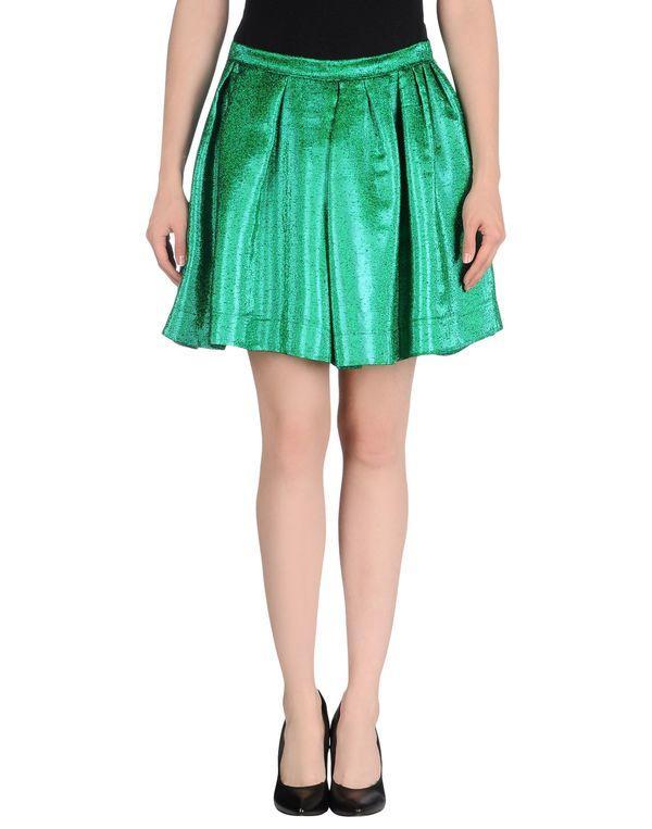 绿色 MSGM 超短裙