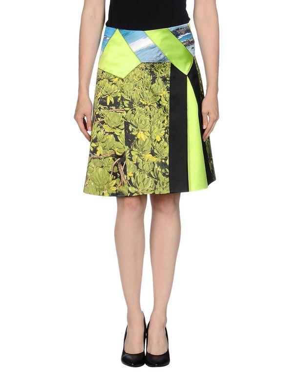 荧光绿 PROENZA SCHOULER 及膝半裙