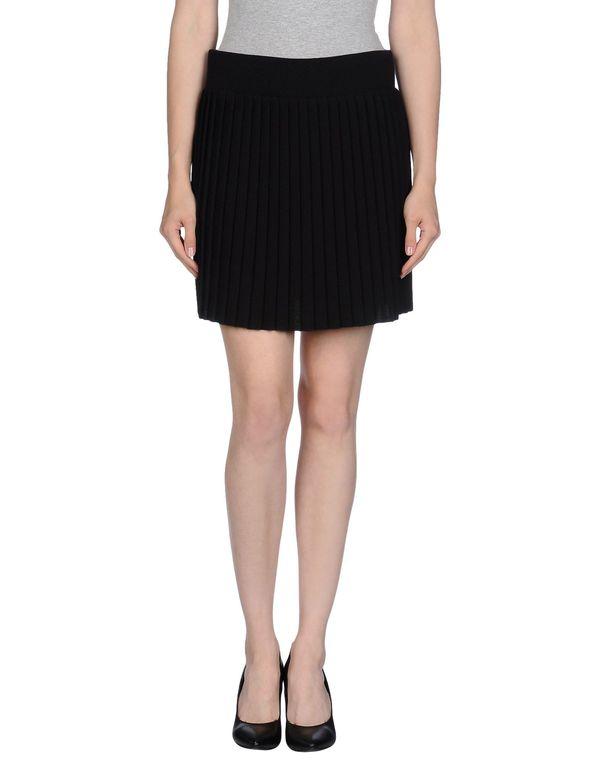 黑色 M.GRIFONI DENIM 超短裙