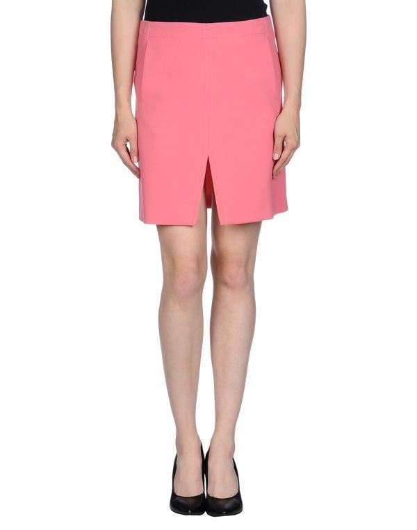 粉红色 MAURO GRIFONI 超短裙