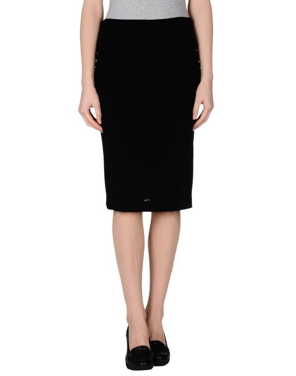 黑色 CLASS ROBERTO CAVALLI 及膝半裙