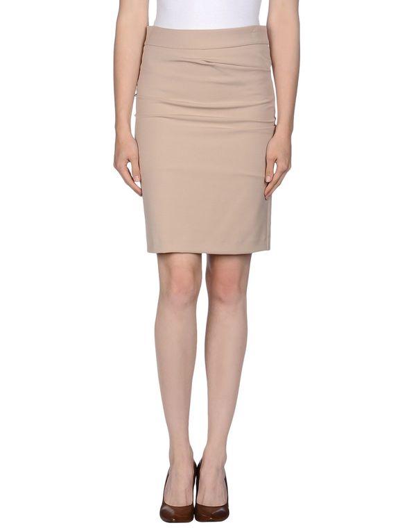 米色 ANNARITA N. 及膝半裙