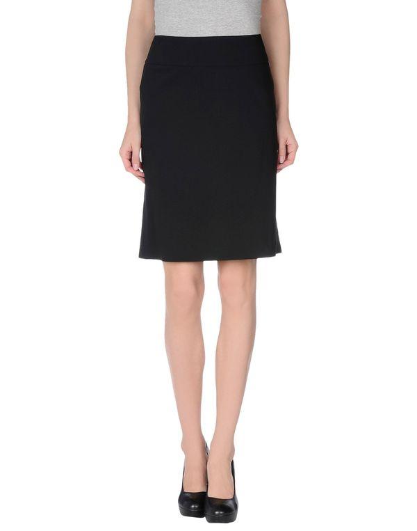 黑色 LIU •JO 及膝半裙