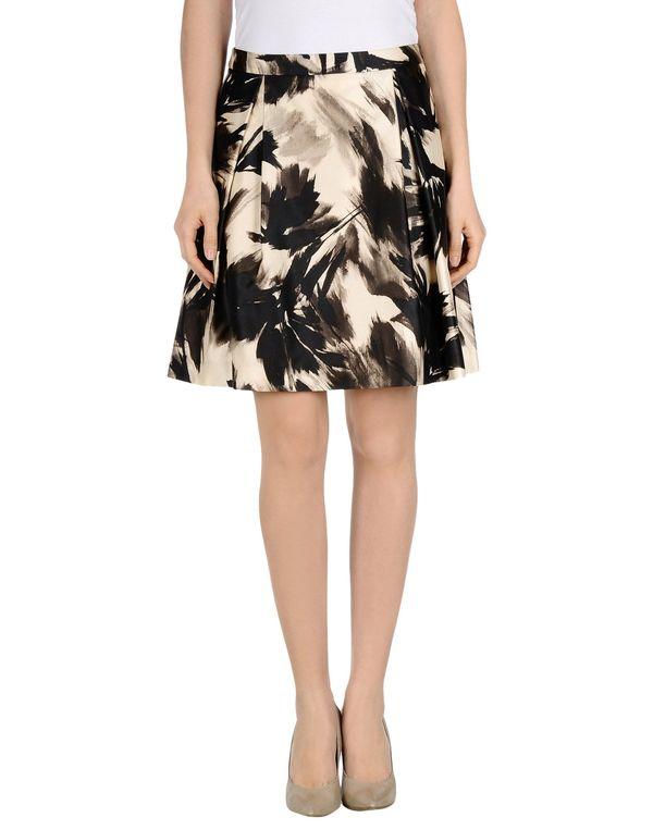 象牙白 BLUMARINE 及膝半裙